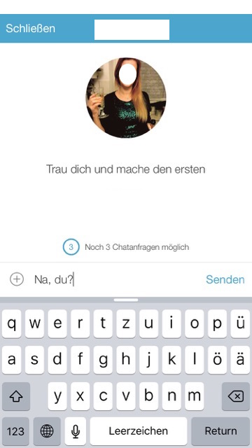 lovoo chat anfragen